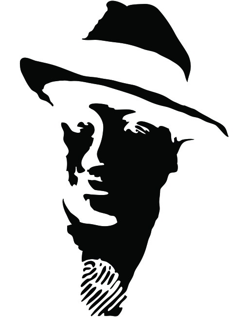 силуэт мужчины в шляпе картинки говориться, хорошо уметь
